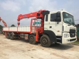 Xe cẩu tự hành 10 - 12 - 15 tấn Hyundai HD320