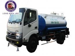 Xe phun nước rửa đường Hino WU 4.5 khối (4.5m3)