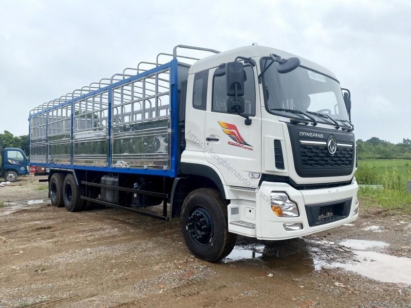 Xe tải Dongfeng 3 chân thùng mui bạt 2021- 2022