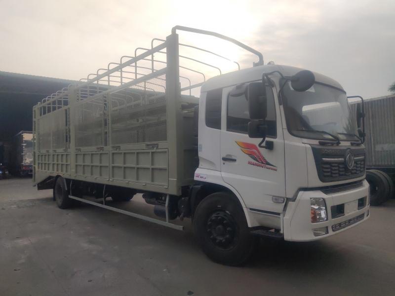 Giá bán xe tải thùng Dongfeng B180 chở ô tô thùng dài 9m7 mới 2021/2022